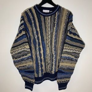 Vintage Coogi Style Norm Thompson Sweater